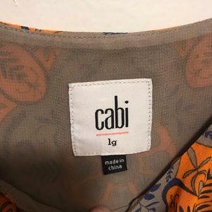 CAbi Tops - Cabi arabesque modern print tank top style #3082